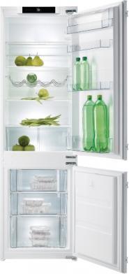 Gorenje NRKI 4181 e1 beépíthető alulfagyasztós hűtőszekrény NOFROST